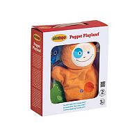 Edushape Puppet Playland Plush Book & Toy Set