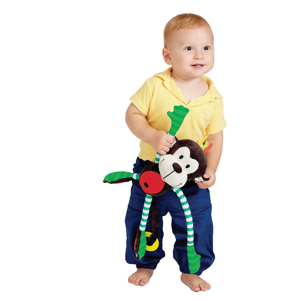 Edushape Happy Monkey Plush Toy
