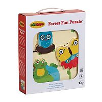 Edushape Forest Fun 7 pc Puzzle
