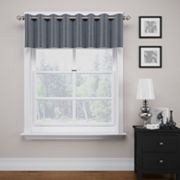 eclipse ThermaWeave Bryson Blackout Window Valance - 18' x 52'