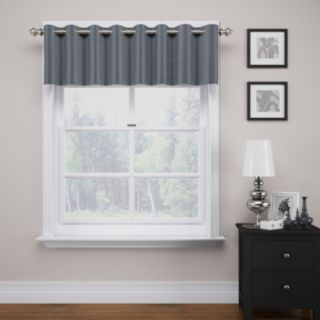 """eclipse ThermaWeave Bryson Blackout Window Valance - 18"""" x 52"""""""