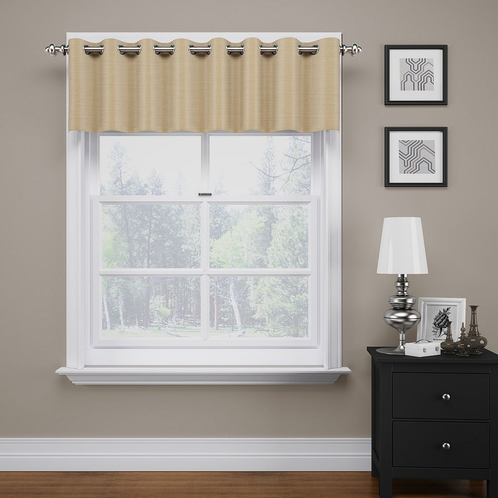 eclipse ThermaWeave Bryson Blackout Window Valance - 18
