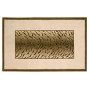 Dimensions Tiger Print Wool Rug