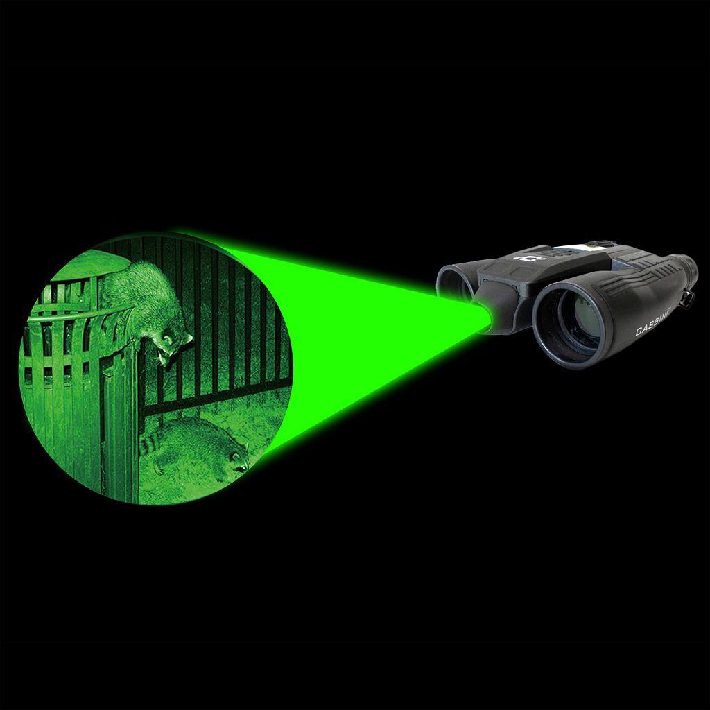 Cassini 10 x 32mm Green Laser Day Night Binoculars