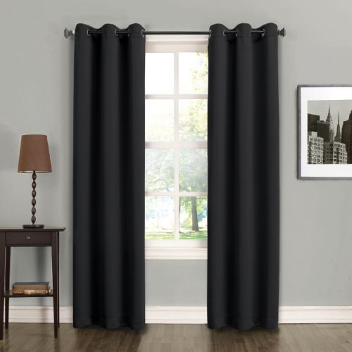 Sun Zero 2-pack Fulton Energy Efficient Curtains