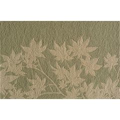 Momeni Veranda Leaf Indoor Outdoor Rug