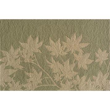 Momeni Veranda Leaf Indoor Outdoor Rug
