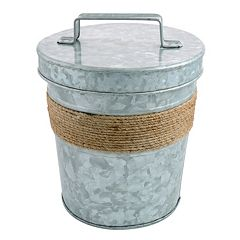 Cambridge Shiloh Galvanized 3-qt. Double-Wall Insulated Ice Bucket