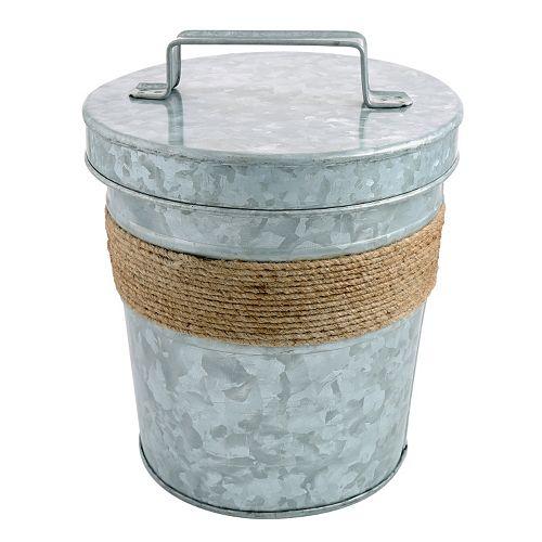 Cambridge Shiloh Galvanized 3-qt. Double-Wall Insulated Ice Bucket