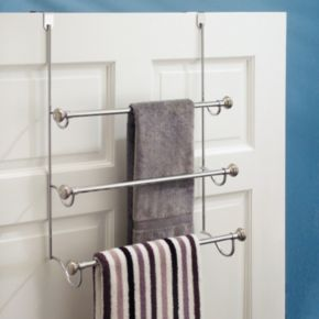Split Finish Over the Door Rack