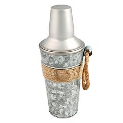 Cambridge Shiloh Galvanized 24-oz. Cocktail Shaker