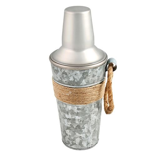 Cambridge Shiloh Galvanized 24-oz. Cocktail Shaker