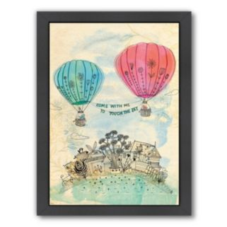 Americanflat Paula Mills ''Touch The Sky'' Framed Wall Art