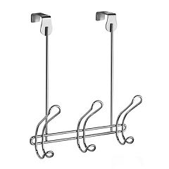 Classico 3 Hook Over the Door Rack