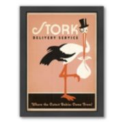 "Americanflat ""Stork"" Framed Wall Art"
