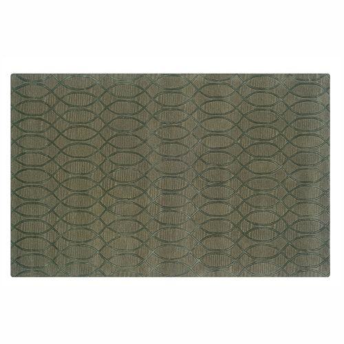 Linon Ashton Trellis Wool Rug