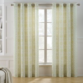 Keeco Chalky Scroll Curtain