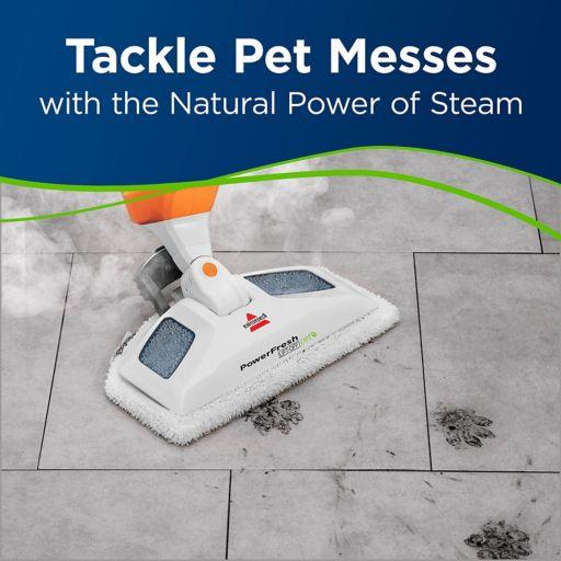 BISSELL PowerFresh Lift-Off Pet Steam Mop