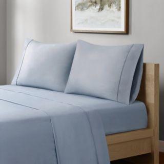 Sleep Philosophy 400-Thread Count Wrinkle Warrior Pima Cotton Sheet Set
