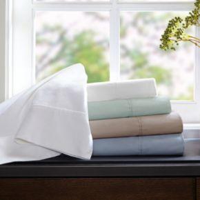 Sleep Philosphy 2-pk. 400-Thread Count Wrinkle Warrior Pima Cotton Pillowcases