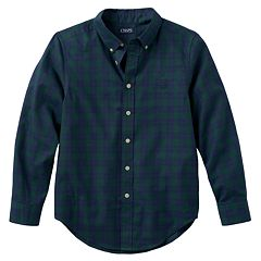Boys 8-20 Chaps Twill Button-Down Shirt