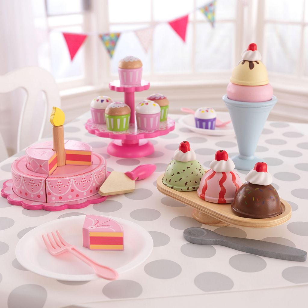 KidKraft Pink Tiered Celebration Cake Set