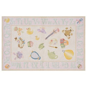 Momeni Lil Mo Classic Alphabet Rug