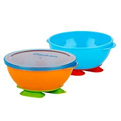 Gerber Graduates 3 pc Tri-Suction Bowl Set by NUK