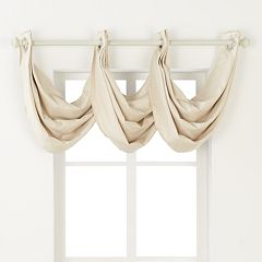 Regent Court Venetian Waterfall Window Valance - 24'' x 24''