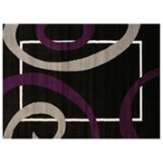 United Weavers Cristall Metro Plum Geometric Rug