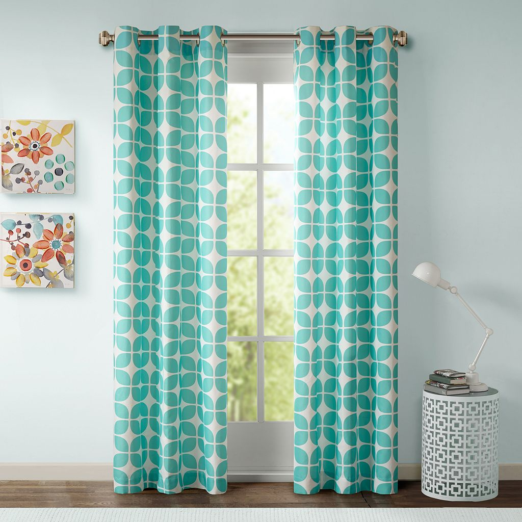 Intelligent Design 2-pack London Window Curtains