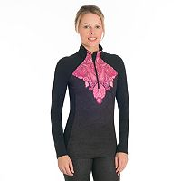 Women's Snow Angel Veluxe Paisley Quarter-Zip Top