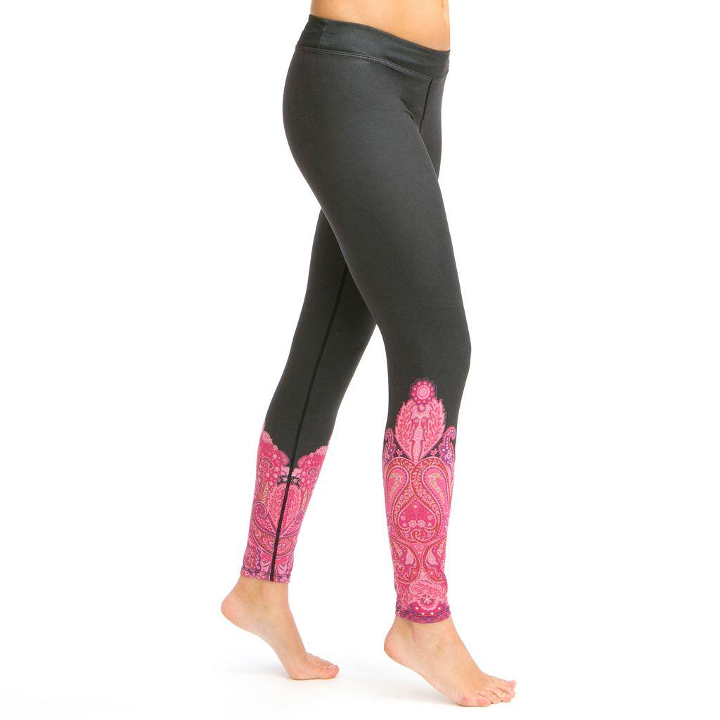 Women's Snow Angel Veluxe Paisley Base Layer Leggings