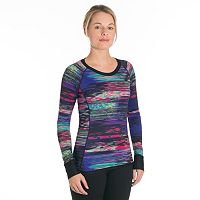 Women's Snow Angel Aurora Reversible Scoopneck Base Layer Top