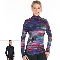 Women's Snow Angel Aurora Reversible Turtleneck Base Layer Top