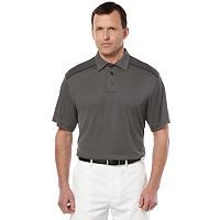 Big & Tall Grand Slam Easy-Care Micro-Jacquard Polo