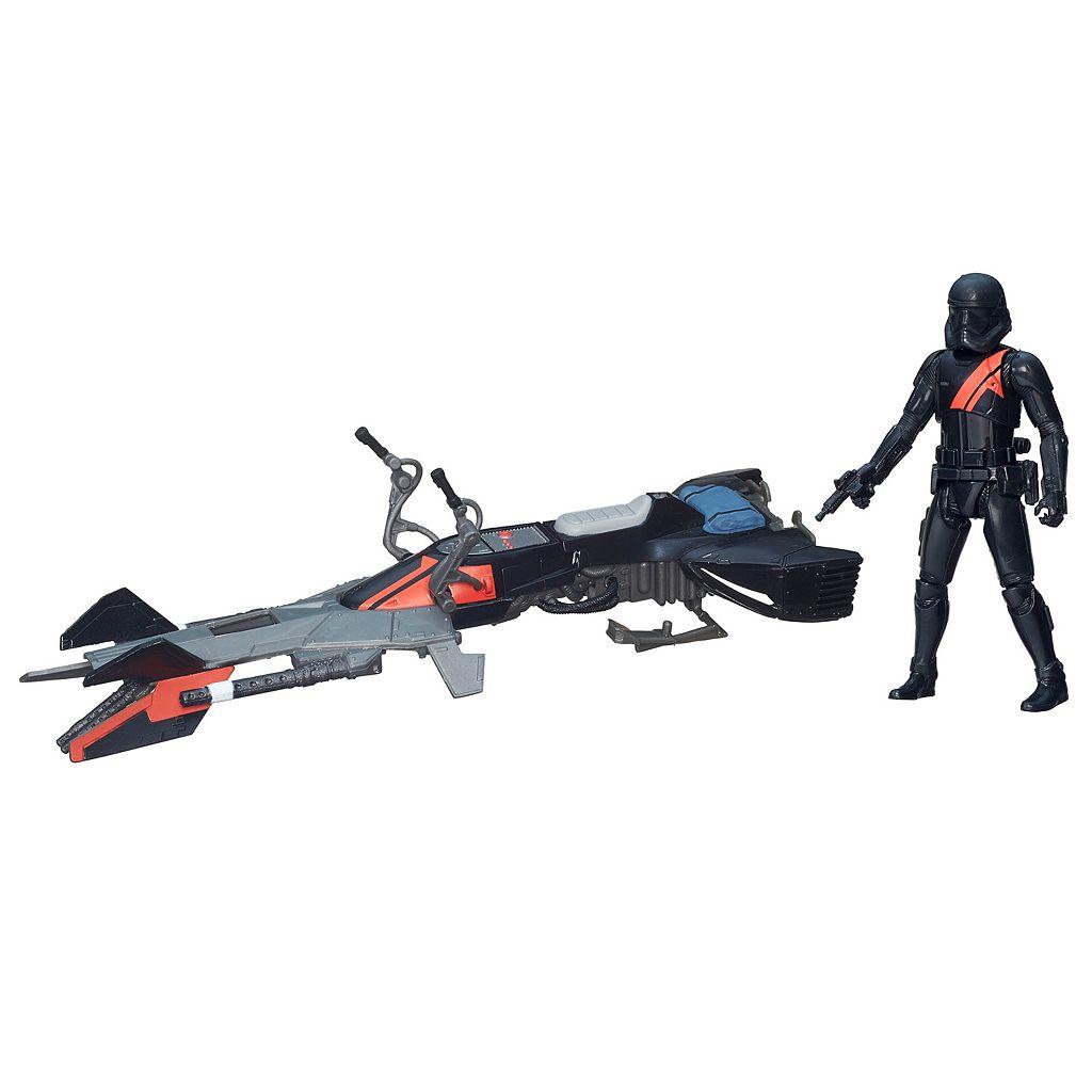 Star Wars: Episode VII The Force Awakens 3.75-in. Elite Speeder Bike Vehicle by Hasbro