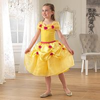 KidKraft Yellow Rose Princess Dress-Up Costume