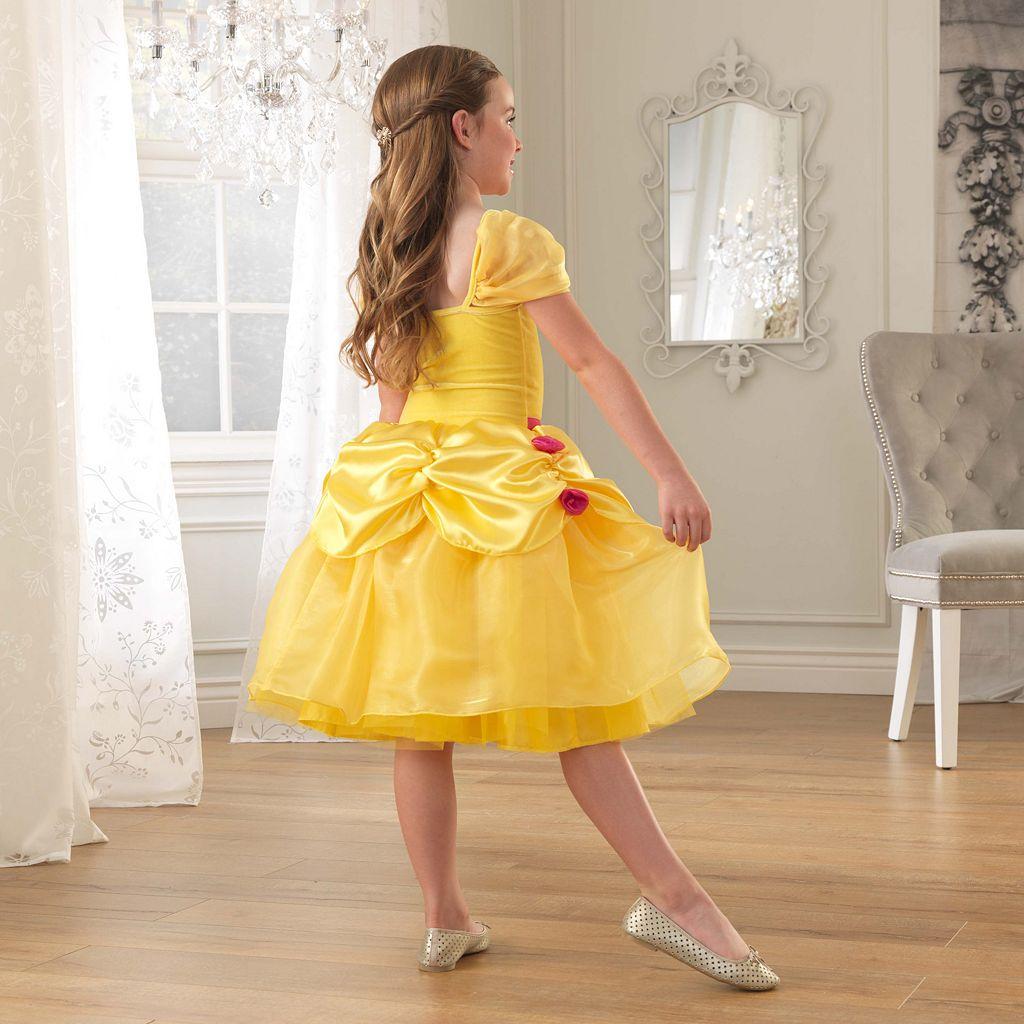 KidKraft Yellow Rose Princess Dress-Up Costume
