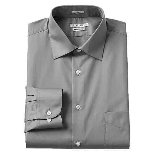 d51df35bfbb64 Men s Van Heusen Regular-Fit Lux Sateen Dress Shirt