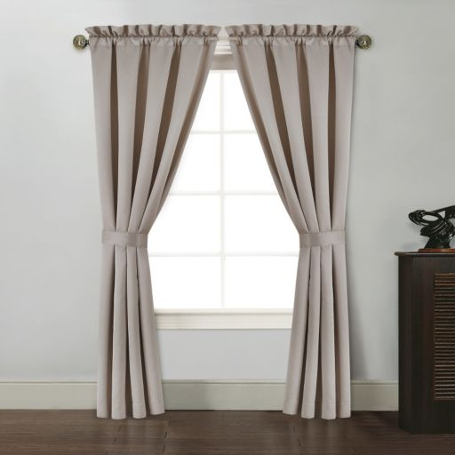 Ellison Vienna II 2-pk. Tieback Window Curtains
