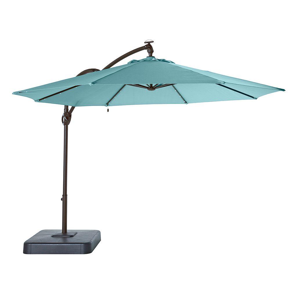 SONOMA Goods for Life™ Cantilever LED Solar Umbrella
