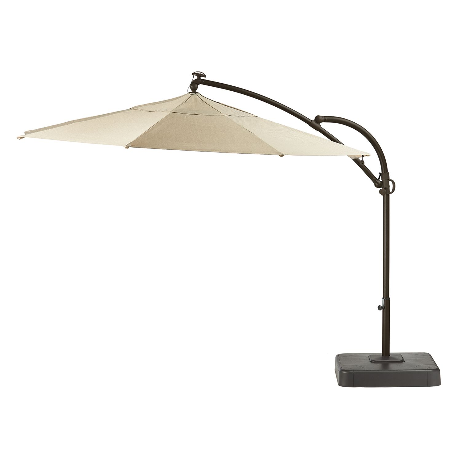 SONOMA Goods For Life™ Cantilever LED Solar Umbrella