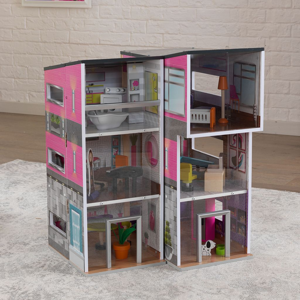 KidKraft Contemporary Deluxe Townhouse Dollhouse