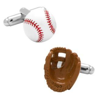 Baseball & Glove Cuff Links