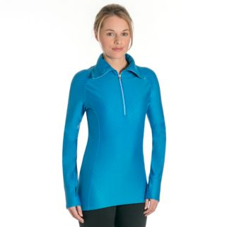 Women's Snow Angel Diamond Duchess Microfleece Quarter-Zip Top
