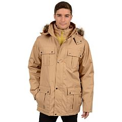 Big & Tall Excelled Modern-Fit 3-in-1 Parka