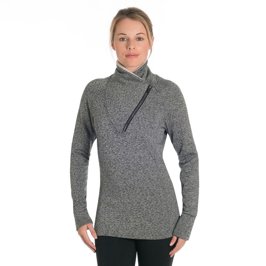 Women's Snow Angel Minx Fleece Quarter-Zip Top