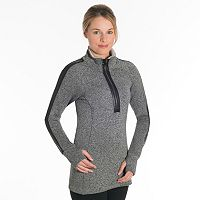 Women's Snow Angel Minx Moto Fleece Half-Zip Top