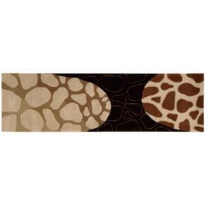 Dimensions Giraffe Wool Rug